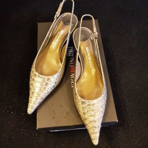 Bruno Magli Slingback shoes- size 9
